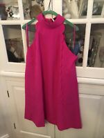 Ted Baker London Pink Torrii High Neck Tunic Dress TB Sz 4 US Sz 10 $279
