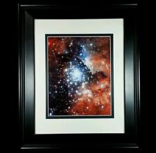 Hubble Space Telescope Milky Way Galaxy Ngc 3603 Matted Framed Photo Art Print
