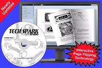 Kawasaki KX125 KX250 Service Repair Maintenance Workshop Shop Manual 1988-2008