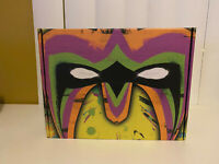 IN HAND * WWE ULTIMATE WARRIOR LIMITED EDITION COLLECTOR'S BOX Size 2XL XXL