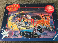RUDOLPH THE RED NOSED REINDEER 60 Pieces Giant Floor Jigsaw Puzzle RAVENSBURGER