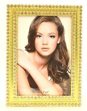 Ciel Collectables Anastasia Picture Frame, Swarovski Crystal, Gold Plating.