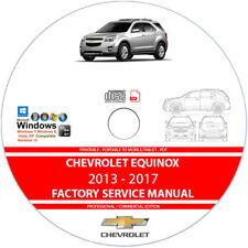 Chevrolet Equinox 2013 2014 2015 2016 2017 Service Repair Manual on CD