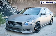 20x11 +28 Rohana RC22 5x114 Black Wheels FITS Nissan Maxima 2011 5x4.5 Aggressiv