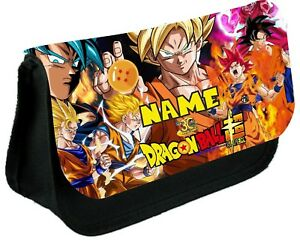 DRAGON BALL Z #1 Personalised Pencil Case, make up bag, school any name