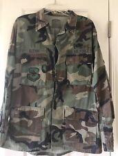 Vintage Men's Us Air Force Original Jacket Military Issue Camo Coat Large Long