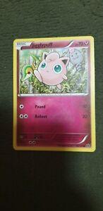 Jigglypuff Pokemon Card COMMON [FATES COLLIDE]