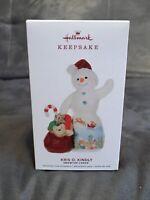 2019 Hallmark Kris O. Kindly Keepsake Ornament Snowdrop Lodge Porcelain