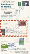 U.K.- 3 first flight covers- Lufthansa / BEA 1971/1973