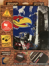 Guard Dog Kansas Jayhawks Protective Case For Ipad 2&3 With Folio Pockets