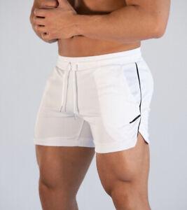 GORECIO Men's Sports Shorts Training Bodybuilding Running Workout Fitness Pants