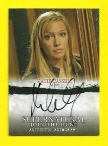 2014 Cryptozoic Supernatural Seasons 1-3 Autograph A05 Katie Cassidy as Ruby