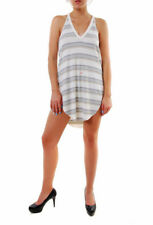 Free People Women's Louie Striped Tunic Top Ivory Combo RRP 71 BCF610