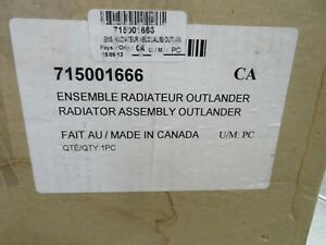 EBM#10 NEW OEM CANAM RADIATOR RELOCATION KIT 715001666