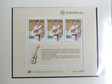 TIMBRES DE MADERE : 1985 YVERT BLOC FEUILLET N° 6** NEUFSANS CHARNIERE - TBE