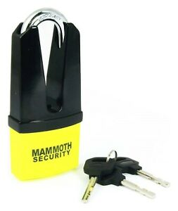 Mammoth Maxi Shackle Disc Lock With 11mm Pin BC41539 - T