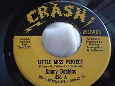 Northern Soul 45 : Jimmy Dobbins ~ Little Miss Perfect ~ What Is Love ~ Crash