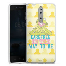 Nokia 8 Silikon Hülle Case - Muppets Carefree is the way to be