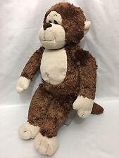 """Build A Bear 18"""" Brown Monkey makes Monkey Sounds Plush Stuffed Animal Toy #2"""