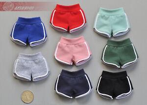 "1:6 Female Sports Shorts Yoga Pants Model Fit 12""  Phicen Figure TBL Body Toy"