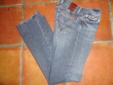 LUCKY BRAND RARE SWEET LOVE ULTRA LOW  BUTTON FLY FLARE JEANS SIZE 2/26