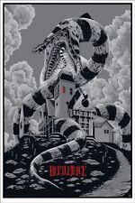 Ken Taylor Beetlejuice Variant GID Mondo Poster Print