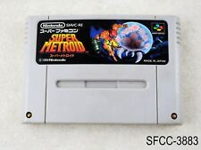 Super Metroid Super Famicom Japanese Import SFC Nintendo Japan SNES US Seller C
