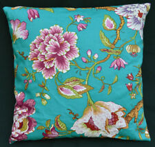 LF809a Green light White Red Flower Cotton Canvas Cushion Cover/Pillow Cover