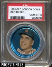 1965 Old London Coins Ken Boyer Cardinals PSA 10 GEM MINT