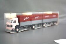 Roskopf LKW Saurer D 290/330 Kofferzug evian 504 NOS OVP 1:87 H0