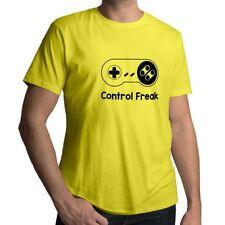 Control Freak SNES Super Nintendo Retro Gaming Mens Crew Neck Tee Unisex T-Shirt