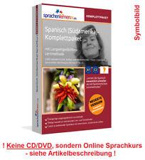 Curso de idiomas español amaestré aprender paquete completo curso en línea vocabulario