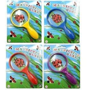 Kids Childrens 15cm Magnifying Glass Bug Viewer Science Toy Xmas Stocking Filler