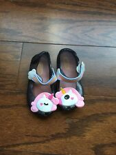 Girls Unicorn Jelly Shoes Size 7/25