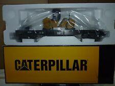 MTH 30-76219 Caterpillar Flat Car w/(1) CB-534D XW Vibratory Asphalt Compactor