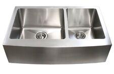 Stainless Steel 60/40 Farmhouse Apron Kitchen Sink
