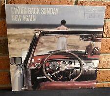 TAKING BACK SUNDAY - New Again, BLACK VINYL LP New & Sealed!