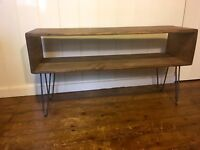 Reclaimed Wood TV Stand|Tv Unit|Coffee Table|Industrial Sideboard|Hairpin Legs