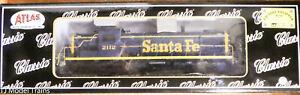 Atlas Classic Gold HO #10003054 (w/LOK Sound) Santa Fe Rd #2112 (NEW)