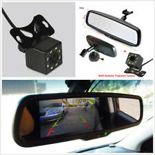 4.3'' Auto Dimming Rearview Mirror Digital Monitor+HD Intelligent Dynamic Camera