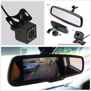 "4.3"" Car Dimming Rearview Mirror Digital Monitor+HD Intelligent Dynamic Camera"