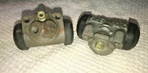 WHEEL CYLINDERS CHEVROLET CORVETTE LEFT RIGHT FRONT REBUILT 1958 1959 DELCO