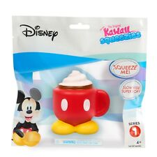 Disney Mickey Coffee Series 1 Kawaii Squeezies - New in Sealed Package