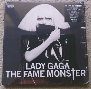 Lady Gaga - The Fame Monster - 3xLP UO Exclusive Box Set Colored Vinyl