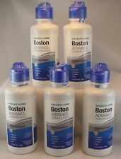 Bausch + Lomb Boston ADVANCE Conditioning Solution ~ 5 bottles 3.5 FL oz each