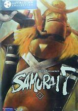 Akira Kurosawa's SAMURAI 7 Volume 3 Four Episodes + Extras Funimation DVD SEALED