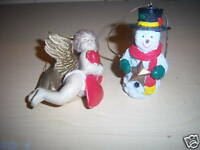 Lot of 2 Christmas Ornaments