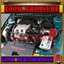 RED 1997-2005/97-05 GRAND AM/ALERO/MALIBU 3.1L 3.4L V6 AIR INTAKE KIT