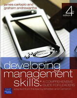 Developing Management Skills: A Comprehensive Guide for Leaders by James...