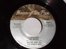 Maceo & all the Kings Men:  Mr. Banks / Got to Get'cha  [Silver Label -Unplayed]